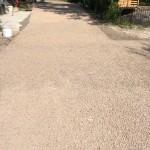 Realizzazione pavimentazione in drainbeton piazzale Casa Angela Oasi del Busatello