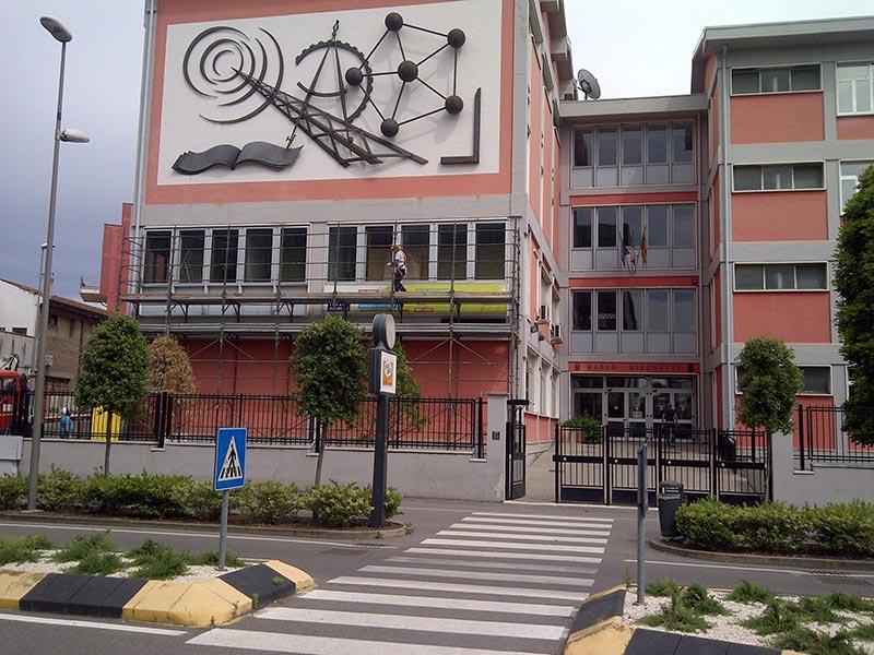 Sostituzione serramenti Istituto Minghetti di Legnago