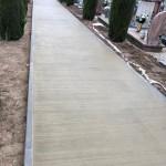 Gazzo Veronese realizzazione nuovi vialetti nel cimitero